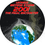 Leonids 2001 - logo - by Robert Haas