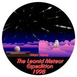 Leonids 1998 - logo - by Robert Haas