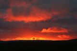 Sunset from Great Whernside