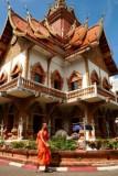Monk at Wat Buparum, Chiang Mai
