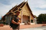 Paul at Chedi Luang, Chiang Mai