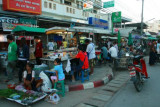 Street markets on the road back to Chiang Mai
