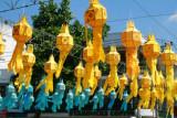 Lanterns ready for loi krathong