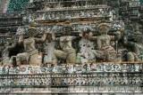 Carvings at Wat Arun, Bangkok
