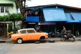 A garage in Thonburi