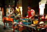 Food stalls in Thonburi