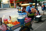 Food stall in Thonburi