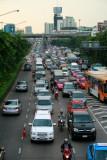Rush hour in Bangkok Noi