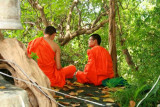 Monks at Golden Mount