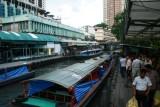 River taxi station, Bangkok