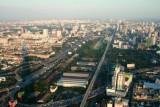Baiyoke Tower, view east