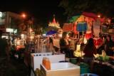 Night markets around Golden Mount