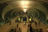 Interior of the new Bangkok airport