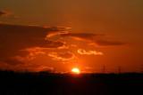 Sunset over Cleckheaton