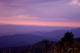 Sunset Big Medows NP, Va