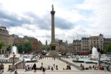 A postcard from Trafalgar Square