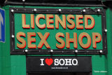 Soho:  Sign of the times