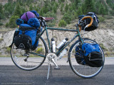 290  Chris - Touring Colorado - Trek 520 touring bike