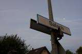 Salach station sign