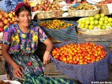 Lady with Produce