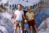 Karen in Baxter State Park, Maine, in 1989