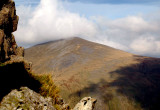 View from Snowdon Mountain Railway, North Wales