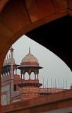 By the Taj Mahal