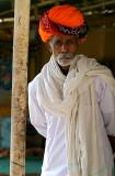 The old man at the ashram