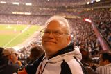 Bill at SF Giants Baseball Game 2006-09-14