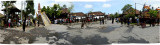Awaiting the beginning of Balinese cremation ceremony.JPG