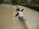 Learning to jump -- the hard way.