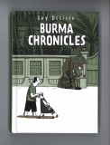 The Burma Chronicles (2008) (inscribed with original drawing)