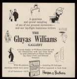 Advertisement for 'The Gluyas Williams Gallery'