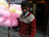 Another candy floss seller.