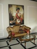 Visiting the Kasauli Resort lounge.