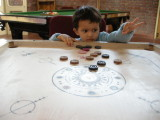 More carom.  Good form!