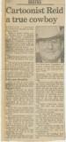 An Ace Reid obituary