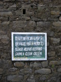 Please help us keeping Simla clean and green
