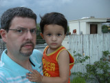 Dad and Rahil.