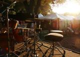 Sundown on the rhythm section