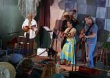 Rachel Sedacca and group at Hotlicks Saturday morning