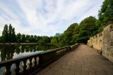 By the University Lake