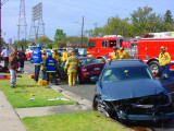 Traffic Accident with Extrication
