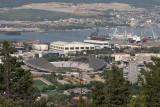 Split - Poljud Stadium, from Marjan