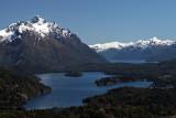 View from Cerro Campanario, near Bariloche