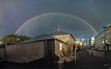 Rainbow over the City-Jail