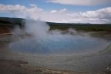 Boiling Water at Geysir