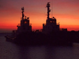 Kralendijk At Sunset