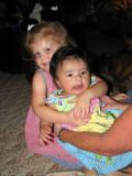 Nicole and Cousin Bella