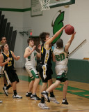 Seton Catholic Central High School's Boys Basketball Team versus Windsor High School